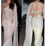White Saree Designs