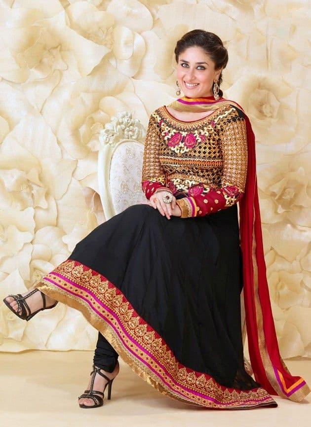 Black Salwar Suit Neck Designs