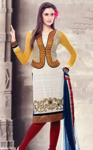 Punjabi Salwar Kameez Neck Design | FemalesPk.Com