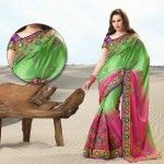 Rangoli Saree Designs