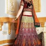 Charming-bridal-lehenga-choli-designs