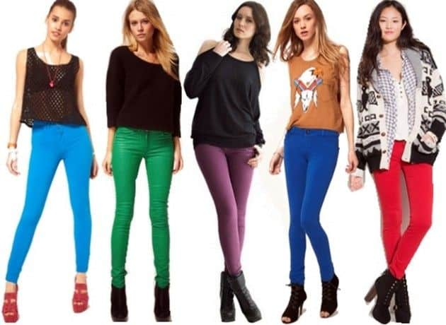 Colored Skinny Jeans For Women - Xtellar Jeans