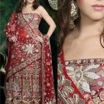 Mehroon-bridal-lehenga-choli-designs