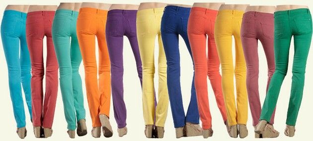 Colored Skinny Jeans for Women | FemalesPk.Com