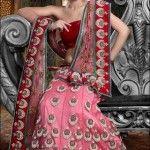 pink-red-bridal-lehenga-choli-designs