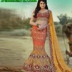 Fish Cut Lehenga Designs