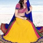 yellow-designer-lehenga-choli-designs