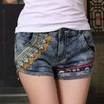 Embroided-girls-denim-shorts-designs