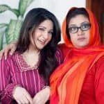 Ayesha Omer with Momo