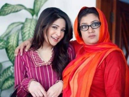 Ayesha Omer with Momo
