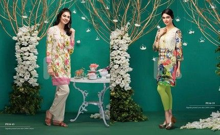 Nisha Eid Dresses 2016 by Nishat Linen