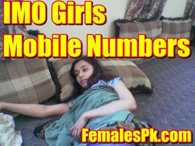 IMO Girls Mobile Numbers