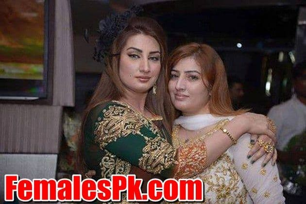 Kismat Baig with her Sister